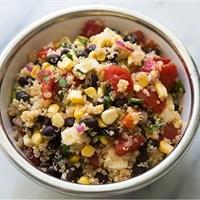 Quinoa Salad w/ Black Beans
