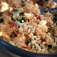 Quinoa with Sundried Tomatoes and Feta