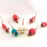 Radish Mice Decorations