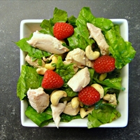 Raspberry Chicken Salad (DailyBurn Ignite)