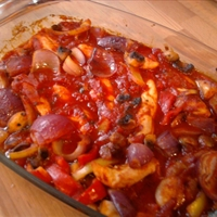 Ratatouille chicken