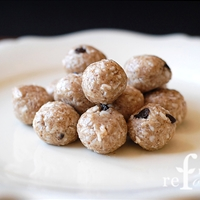 Raw Coconut Almond Butter Balls