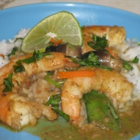 Ray's Thai Coconut Curry Shrimp