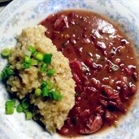 Red Beans & Brown Rice