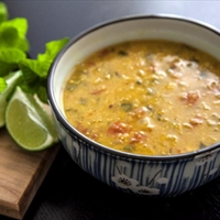 Red Lentil & Garbanzo Bean Soup