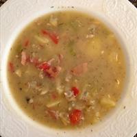 Red lentil & sausage soup-CJCS