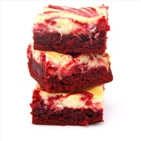 Red Velvet Cheesecaks Brownies
