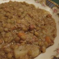 Rheinlander Famous Lentil Soup
