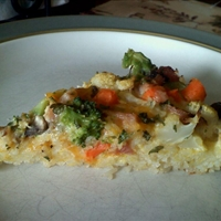 Rice-Crust Quiche