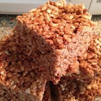 Rice Krispy Nutella treats