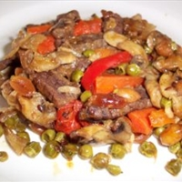 Rick's low sodium beef stir fry