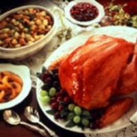 Roast Turkey with Honey-Mustard Glaze