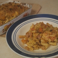 Roast Veg and Macaroni Bake