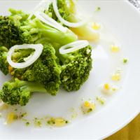 Roasted Broccoli and Sweet Onion