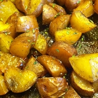 Roasted Honey Red Potatoes