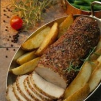 Roasted Peppered Pork Loin