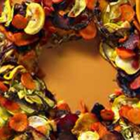 Roasted Vegetable Wreath