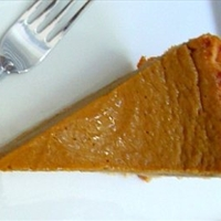 Roberta's Spicy Pumpkin Pie