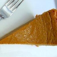 Roberta's Spicy Pumpkin Pie