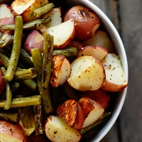 Rustic New Potato and Bean Salad