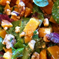 Salad: Beet & Walnut Salad