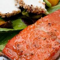 Salmon- Bourbon Glaze