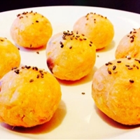 Salmon Potato Rice Ball (eggless)