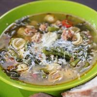 Sausage and Broccoli Rabe Soup