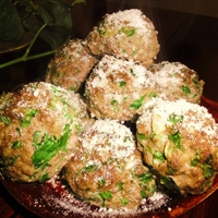 Sausage And Spinach Meatballs