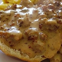 Sausage Gravy (for Biscuits and Gravy)