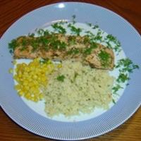 Savory Salmon recipe