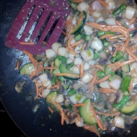 Scallop And Vegetable Stir-Fry