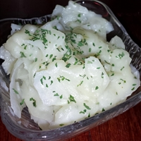 Scalloped Potatoes (Microwave)