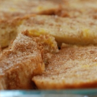 Scrumptious Baked French Toast
