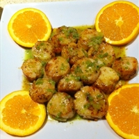 Seared Scallops with Jalapeno Vinagrette