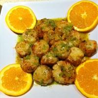 Seared Scallops with Jalapeno Vinagrette
