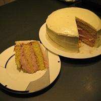 Semi-Homemade Cran Orange Cake