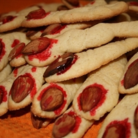 Severed Halloween Finger Cookies