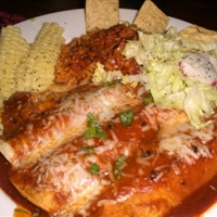 Shrimp and Crab Enchiladas