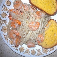 Shrimp Sauteed with White Wine
