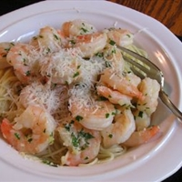 Shrimp Scampi Cilantro