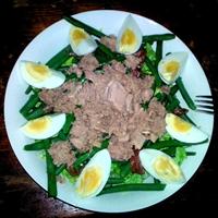 Savory Tuna & Anchovy Salad