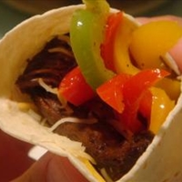 Sizzling Steak Fajitas
