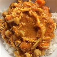 Slow Cooker Chicken Curry (Light)