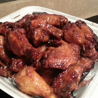Smoked Asian Wings