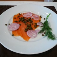 Smoked Salmon Platter (brunch)