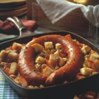 Smoked Sausage Skillet Cassoulet
