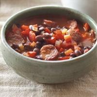 Smoky Black Bean Soup