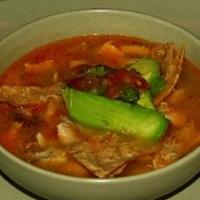Sopa De Lima (Lime Soup)