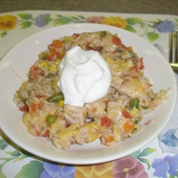 Southwest Chicken Skillet